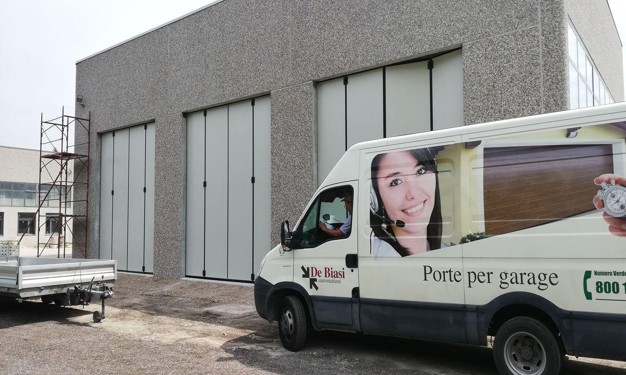 Portoni a libro industriali Mantova, Modena, Reggio Emilia, Verona