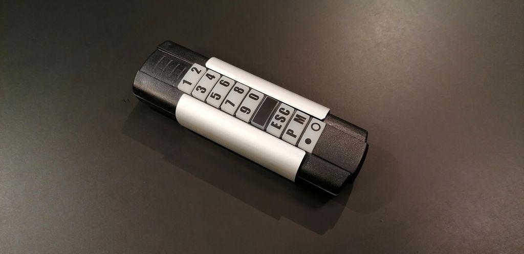 Tastiera Telecody per il controllo fino a 10 dispositivi radio senza cablaggio con frequenze 434 o 868