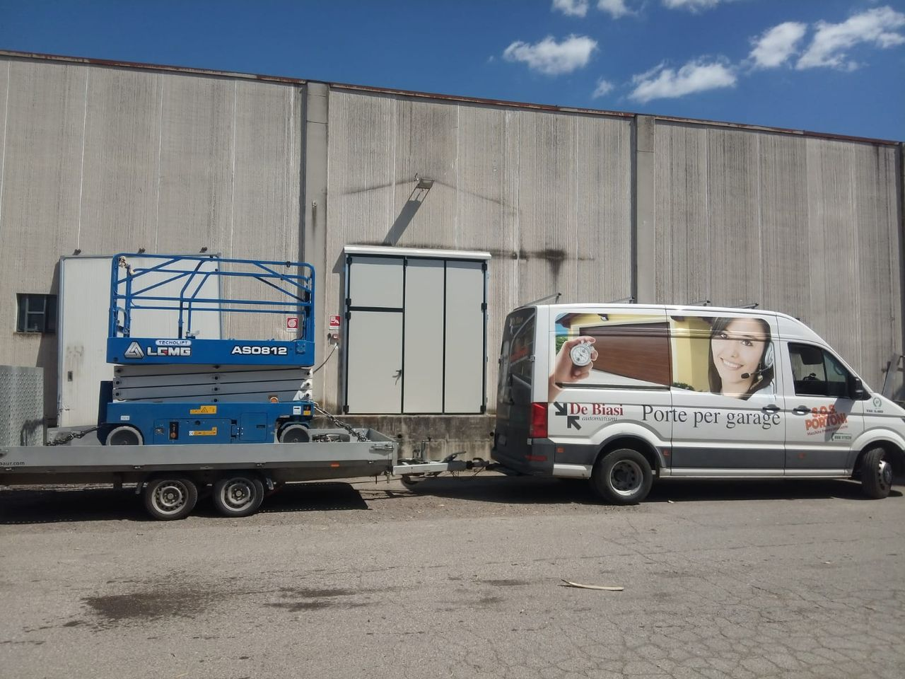 Portoni a libro industriali Mantova Modena Reggio Emilia Verona
